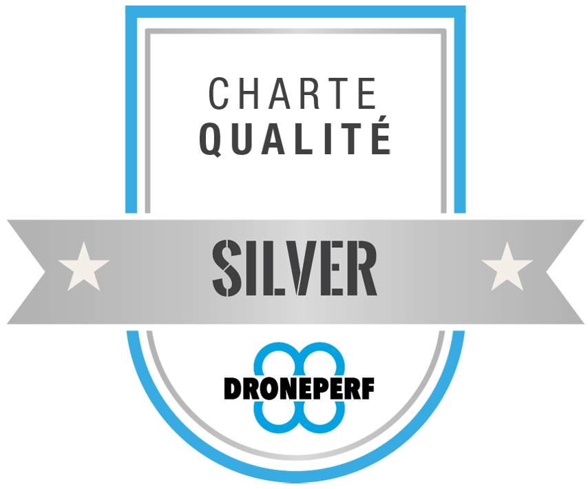 badge droneperf silver